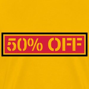 Cheaper sale reduced 50% off T-Shirts - Men's Premium T-Shirt