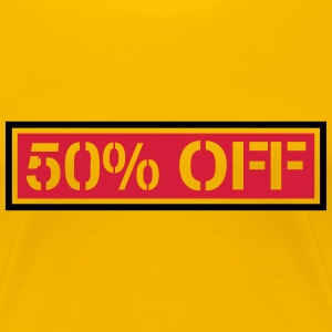 Cheaper sale reduced 50% off T-Shirts - Women's Premium T-Shirt