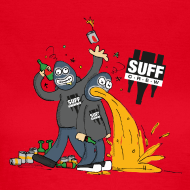 Design ~ Suff Crew Caricature T-Shirt Girls
