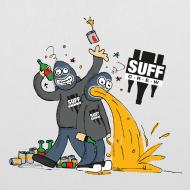 Design ~ Suff Crew Caricature Bag