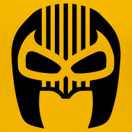 Design ~ Snuff Crew Mask T-Shirt Standard yellow Girls