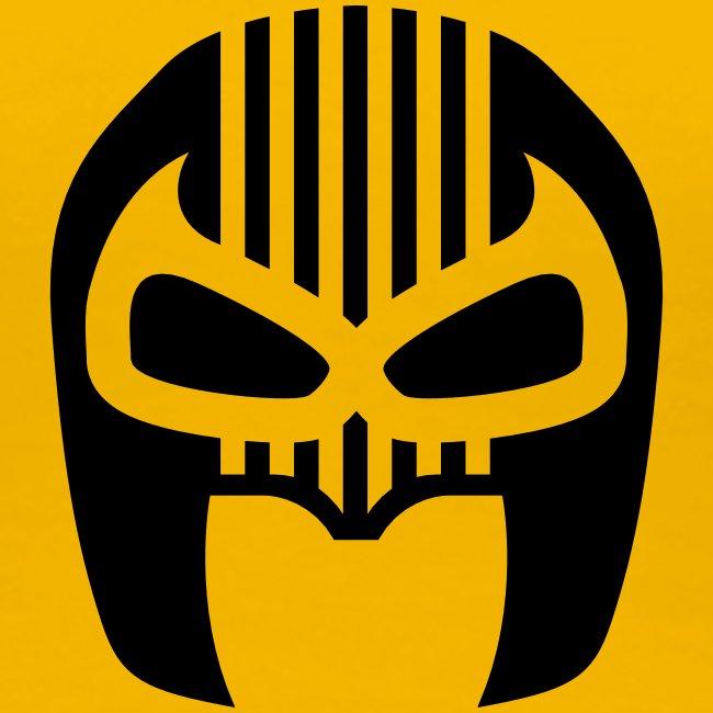 Snuff Crew Mask T-Shirt Standard yellow Girls