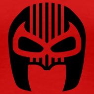 Design ~ Snuff Crew Mask T-Shirt Standard red Girls