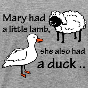 Mary had a Little Lamb T-Shirts - Men's Premium T-Shirt