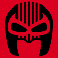 Design ~ Snuff Crew Mask T-Shirt Standard red