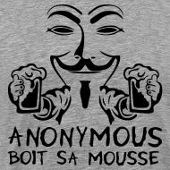 Motif ~ Anonymous boit sa mousse