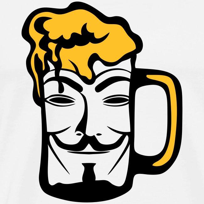 Anonymous dans une biere