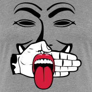 Motif ~ Anonymous tire la langue