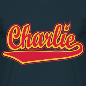Charlie - Personalise a t-shirt with your name. T- - Men's T-Shirt