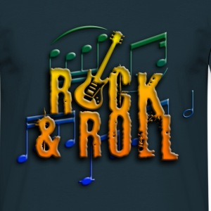 rock and roll e-guitar T-Shirts - Männer T-Shirt