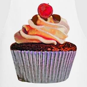 Chocolate Vanilla Cupcake  Aprons - Cooking Apron