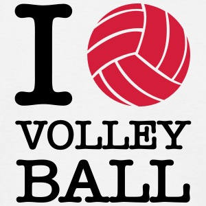 I Love Volleyball T-shirts - Mannen T-shirt