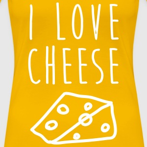 I love cheese! - Frauen Premium T-Shirt