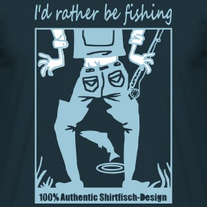 (rather_be_fishing) T-Shirts - Männer T-Shirt