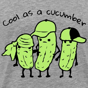 Cool as a cucumber - Männer Premium T-Shirt