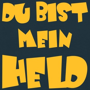 Du bist mein Held  T-Shirts - Men's T-Shirt