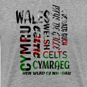 Wales , Welsh and proud nation - Men's Premium T-Shirt