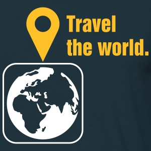 Travel the world Camisetas - Camiseta hombre