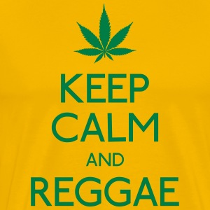 keep calm and Reggae T-Shirts - Men's Premium T-Shirt