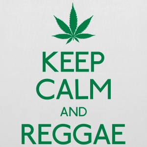 keep calm and Reggae garder calme et reggae Sacs et sacs à dos - Tote Bag
