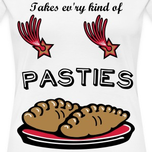 Pasties - An International Guide T-Shirts - Women's Premium T-Shirt