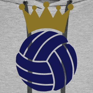 Volleyball Couronne Sweat-shirts - Sweat-shirt à capuche Premium pour hommes
