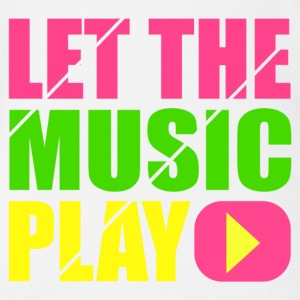 let the music play Shirts - Organic Short-sleeved Baby Bodysuit