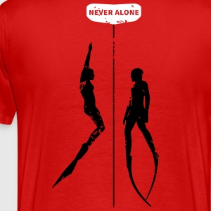Never Alone II - Männer Premium T-Shirt