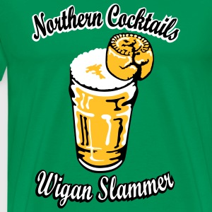 Northern Cocktail - Wigan Slammer T-Shirts - Men's Premium T-Shirt