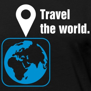 Travel the world Tee shirts manches longues - T-shirt manches longues Premium Femme