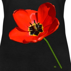 Red poppy seed T-Shirts - Women's V-Neck T-Shirt