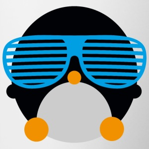 penguin glasses penguin glasögon Flaskor & muggar - Mugg