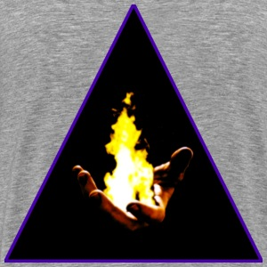 Holding the Flame - Men's Premium T-Shirt