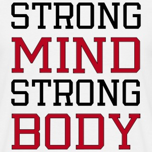 strong mind strong body T-shirts - Herre-T-shirt