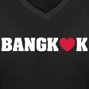 BANGKOK LOVE T-Shirts - Women's V-Neck T-Shirt