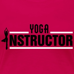 Yoga Instructor T-shirts - Dame premium T-shirt