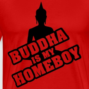 Buddha is my homeboy T-Shirts - Männer Premium T-Shirt