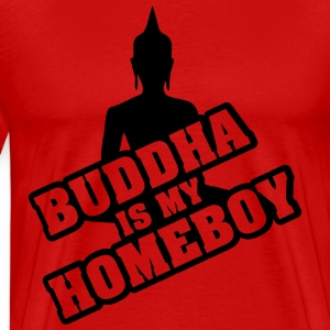 Buddha is my homeboy Camisetas - Camiseta premium hombre