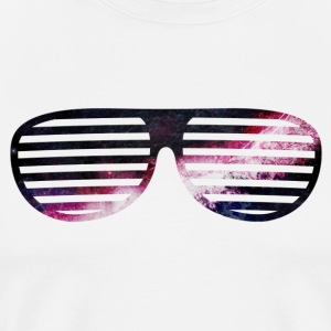 galaxy glasses galaxy briller T-skjorter - Premium T-skjorte for menn