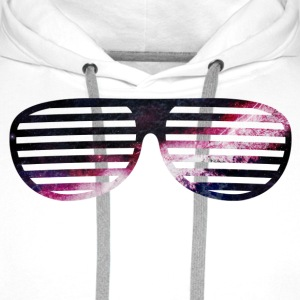 galaxy glasses Hoodies & Sweatshirts - Men's Premium Hoodie