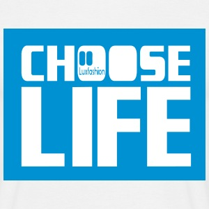 choose life box  T-shirts - Herre-T-shirt