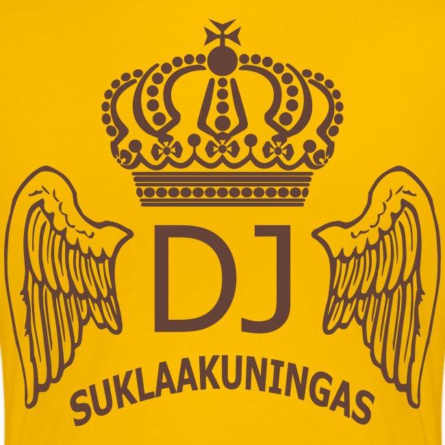 DJ Suklaakuningas -fanipaita naisille