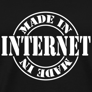 made_in_internet_m1 T-shirts - Herre premium T-shirt