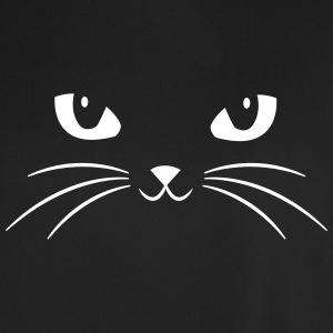 Cat Face With Big Eyes T-Shirts - Men's Football Jersey