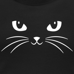 Cat Face With Big Eyes T-Shirts - Women's Scoop Neck T-Shirt