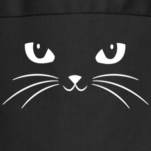 Cat Face With Big Eyes  Aprons - Cooking Apron