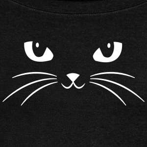Cat Face With Big Eyes Sweat-shirts - Pull Femme col bateau de Bella