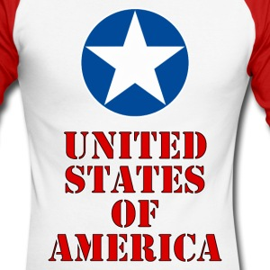 united states 11 Long sleeve shirts - Men's Long Sleeve Baseball T-Shirt