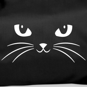 Cat Face With Big Eyes Bolsas y mochilas - Bolsa de deporte