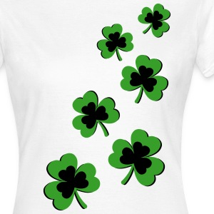 St. Patrick`s Day Shamrock Clover Gift Lucky Charm T-Shirts - Women's T-Shirt